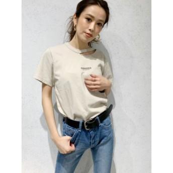 (GYDA/ジェイダ)GYCODE Tシャツ/レディース ベージュ 送料無料