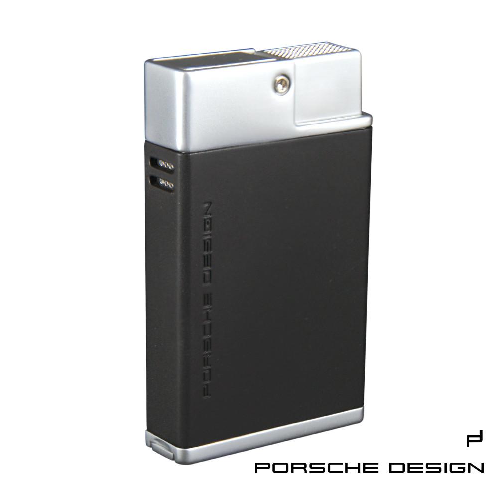保時捷porsche design p3631雙噴射火焰打火機(黑)