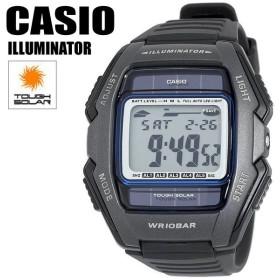 CASIO カシオ 腕時計 タフソーラー デジタル メンズウォッチ WL-500-1A レトロ ベーシック