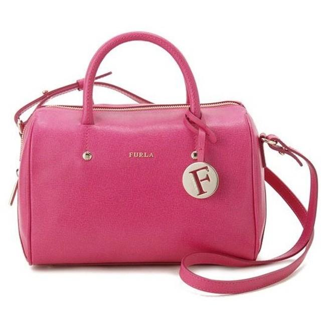 フルラ Furla ショルダーバッグ 754225 ALISSA ボストン型 ピンク レディース ブランド
