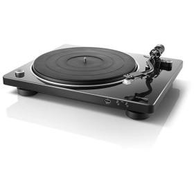 DENON レコードプレーヤー USB録音対応 ブラック DP-450-BKEM