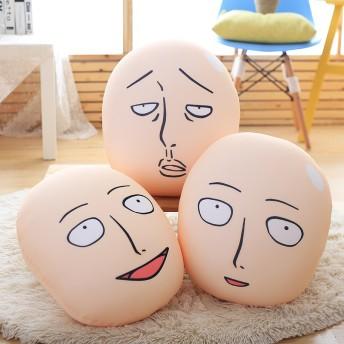 ワンパンマン 埼玉 埼玉先生 同人人形 抱き枕 ハゲ人形 アニメ同人 全然可爱くない