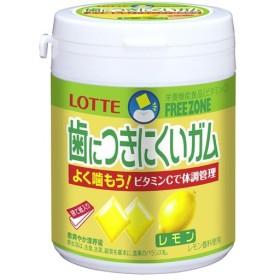 Tポイント8倍相当 株式会社ロッテ フリーゾーンガムレモン ボトル (138g)×6個セット <栄養機能食品>