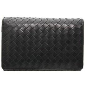 モンタナ MONTANA レディースバッグ 財布 ブラック カーフ レディースバッグ 財布 メッシュ 【二つ折り財布】 ブランド