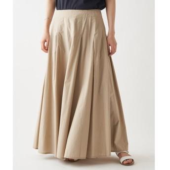 BEARDSLEY / ビアズリー タックシャツスカート