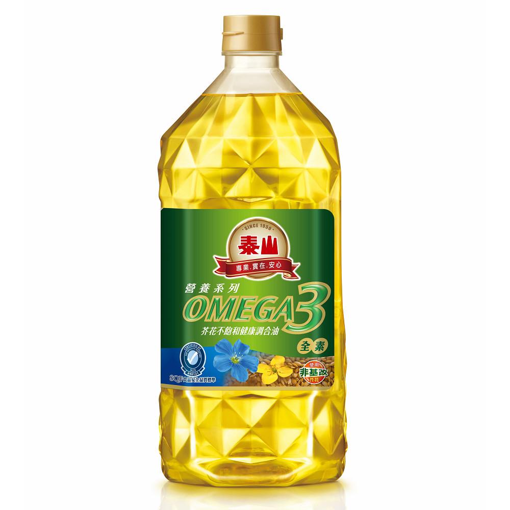泰山 omega-3芥花不飽和健康調合油 (2l*6入/箱)