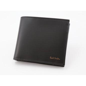 ポールスミス Paul Smith 二つ折り財布 ARPC-4833-W761-B ブラック