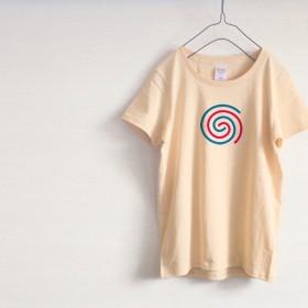 パープル! メンズ・レディース Tシャツ(ナチュラル)