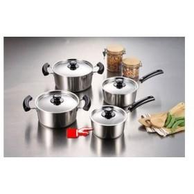パール金属 グランディーヌ アルミ3層鋼片手鍋16cm [ IH対応 オール熱源対応 ] 熱伝導・保温性に優れています 調理器具 厨房用品 厨房機器