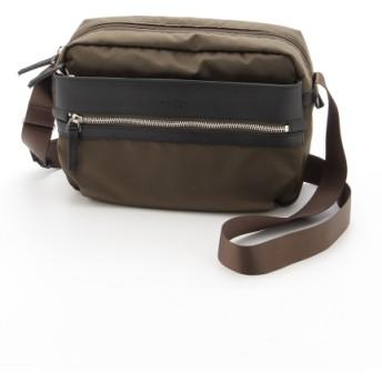 50%OFF Y'SACCS(bag) (イザック(バック)) ミラコスモナイロンショルダー カーキ×ブラック