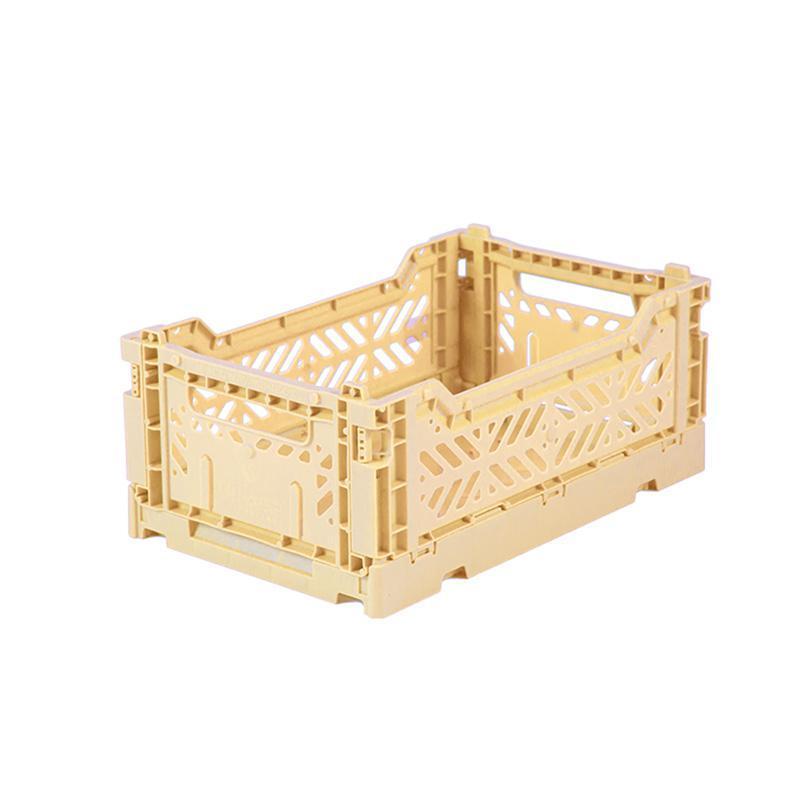 折疊收納箱 S (3入) - 香蕉奶昔