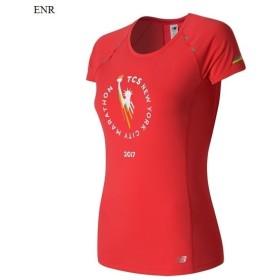 2a2c8746ac2e1 決算セール!! 2017FW ニューバランス ウィメンズ NYC Marathon NB ICE ショートスリーブTシャツ ランニング