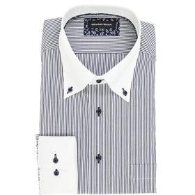 【GRAND-BACK:トップス】【大きいサイズ】 形態安定ボタンダウン長袖ビジネスドレスシャツ