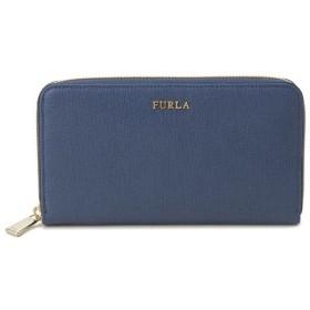 フルラ ラウンドファスナー長財布 777355 FURLA ブルー ブランド