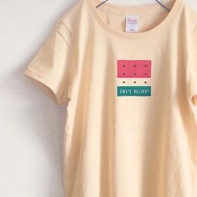 ロゴスイカ Tシャツ(ナチュラル)
