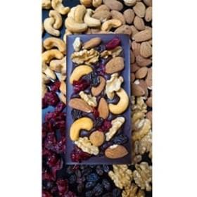グランポワール チョコレート カカオ90%(50g)・カカオ90%+ナッツ&ドライフルーツ(82g)