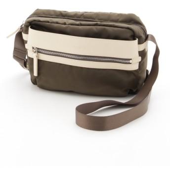 50%OFF Y'SACCS(bag) (イザック(バック)) ミラコスモナイロンショルダー カーキ