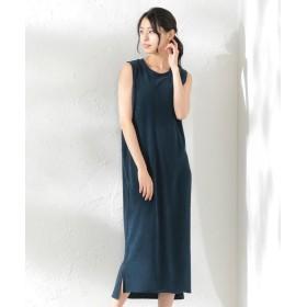 ラブレス WOMEN フルーツオブザルームパイルドレス レディース ネイビー1 36 【LOVELESS】