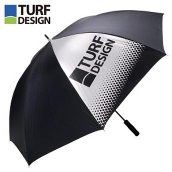朝日ゴルフ TURF DESIGN ターフデザイン 軽量 アンブレラ TDPS-1970 BK ブラック [2019年モデル]