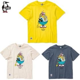 チャムス CHUMS Tシャツ 半袖 レディース シェイブドアイスTシャツ トップス CH11-1508