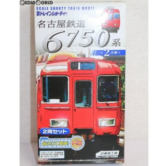『中古即納』{RWM}Bトレインショーティー 名古屋鉄道 6750系(2次車) 2両セット 組み立てキット Nゲージ 鉄道模型 日車夢工房/バンダイ(20120203)