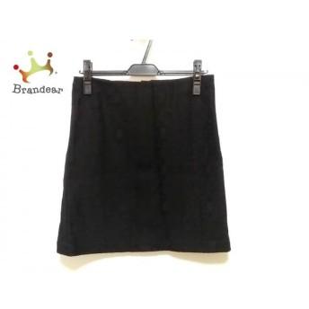 シーバイクロエ SEE BY CHLOE スカート サイズ36 S レディース 美品 黒 花柄 新着 20190622