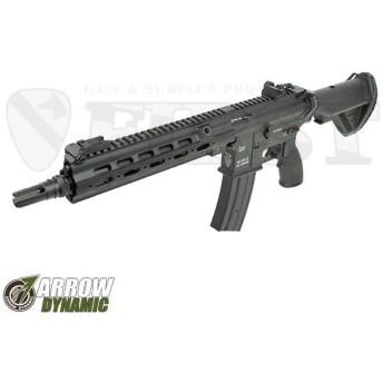 HK416 Geissele SMR カスタム BK ブラック 電動ガン 海外製 アローダイナミック 18歳以上 import サイ(18erm)