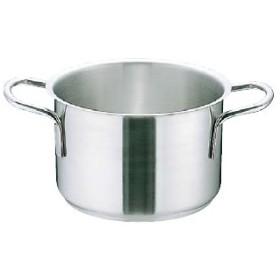 ムラノ インダクション18-8半寸胴鍋 (蓋無)20cm