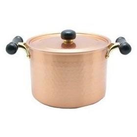 銅IHアンティック 深型鍋 IH-103 22cm【 鍋全般 】