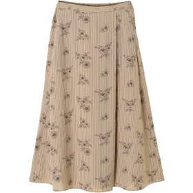【6,000円(税込)以上のお買物で全国送料無料。】ラップ風ロングスカート