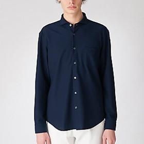 【Crestbridge 】ジャージーカッタウェイカラーシャツ