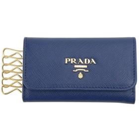 プラダ キーケース PRADA 1PG222 QWA F0016 サフィアーノ BLUETTE ブルーエット メンズ/レディース【送料無料】