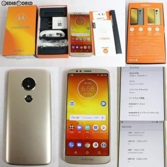 『中古即納』{SP}Moto E5(ファインゴールド) SIMフリー Motorola(モトローラ)(PACH0014JP)