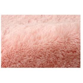 イケヒコ ラグ ルームマット 『フィリップ』 ピンク 約92×130cm ホットカーペット対応 4626559 1枚(直送品)