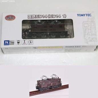 『中古即納』{RWM}262091 鉄道コレクション(鉄コレ) 国鉄ED14(ED14 1) Nゲージ 鉄道模型 TOMYTEC(トミーテック)(20151203)
