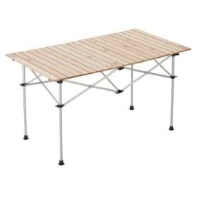【ポイント15倍】キャンプ テーブル チェア コールマン ナチュラルウッドロールテーブル 120 2000031291