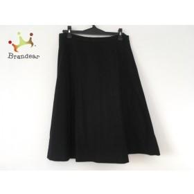 マックスマーラスタジオ MAXMARA STUDIO スカート サイズ42 L レディース 黒 新着 20190624