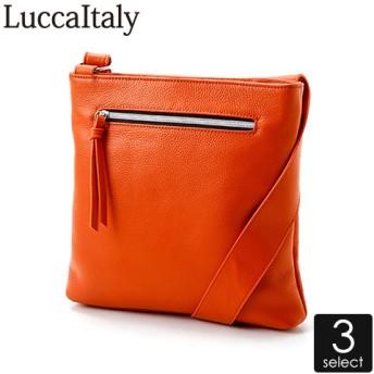 LuccaItaly(ルカイタリー)牛革ショルダーバッグ レディース