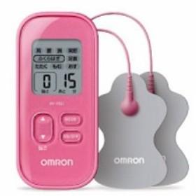 オムロン HV-F021-PK 低周波治療器 ピンク