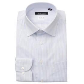 【THE SUIT COMPANY:トップス】【NON IRON STRETCH】ワイドカラードレスシャツ ストライプ 〔EC・BASIC〕