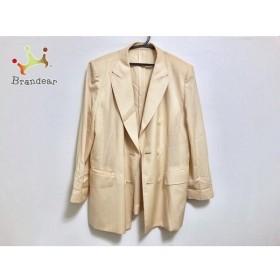 キャラオクルス CARA O CRUZ コート サイズ9 M レディース 美品 ベージュ 春・秋物/肩パッド 新着 20190625