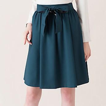 【ブルーレーベル・クレストブリッジ 】ウエストリボン ギャザースカート