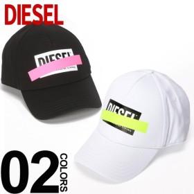 ディーゼル DIESEL キャップ コットン スナップバック ネオン 蛍光 ライン ロゴ ブランド メンズ 帽子 DSSQJYJAPG