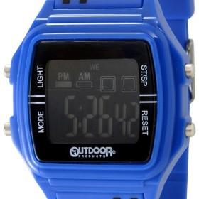 アウトドア プロダクツ OUTDOOR ODP402-BLBK ユニセックス デジタル ウォッチ ブルー/ブラック 腕時計 メンズ レディース ブランド