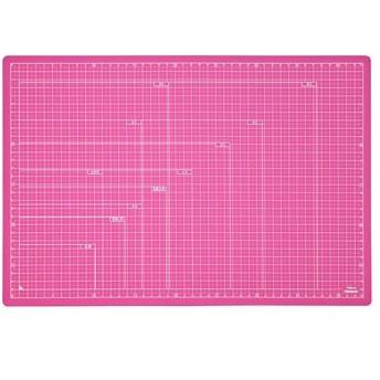 ナカバヤシ 折りたたみカッティングマットA3/ピンク(ピンク)