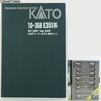『中古即納』{RWM}10-358 E351系「スーパーあずさ」基本セット Nゲージ 鉄道模型 KATO(カトー)(20001231)
