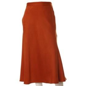 INED L / イネド(エルサイズ) 《大きいサイズ》フェイクスエードAラインスカート