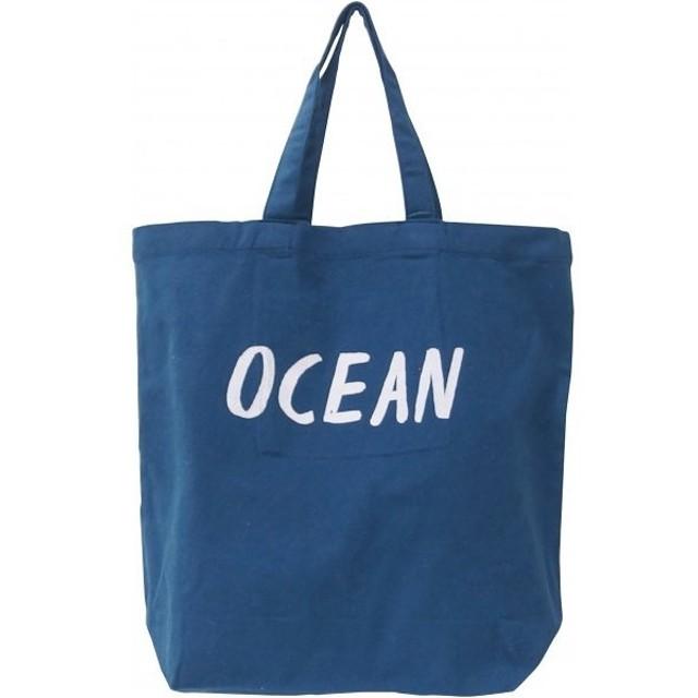 有限会社キーストーン カラフルミニトート OCEANブルー 38×12×55cm COMITOOB 1個
