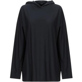 《期間限定セール開催中!》ASPESI レディース T シャツ ブラック XS コットン 100%