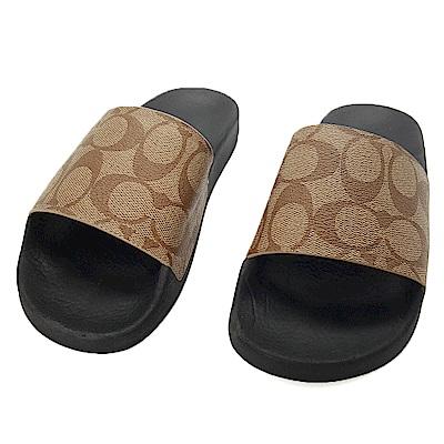 美國專櫃同步進行高級PVC防水材質時尚造型撞鞋0機率滿版C字樣造型